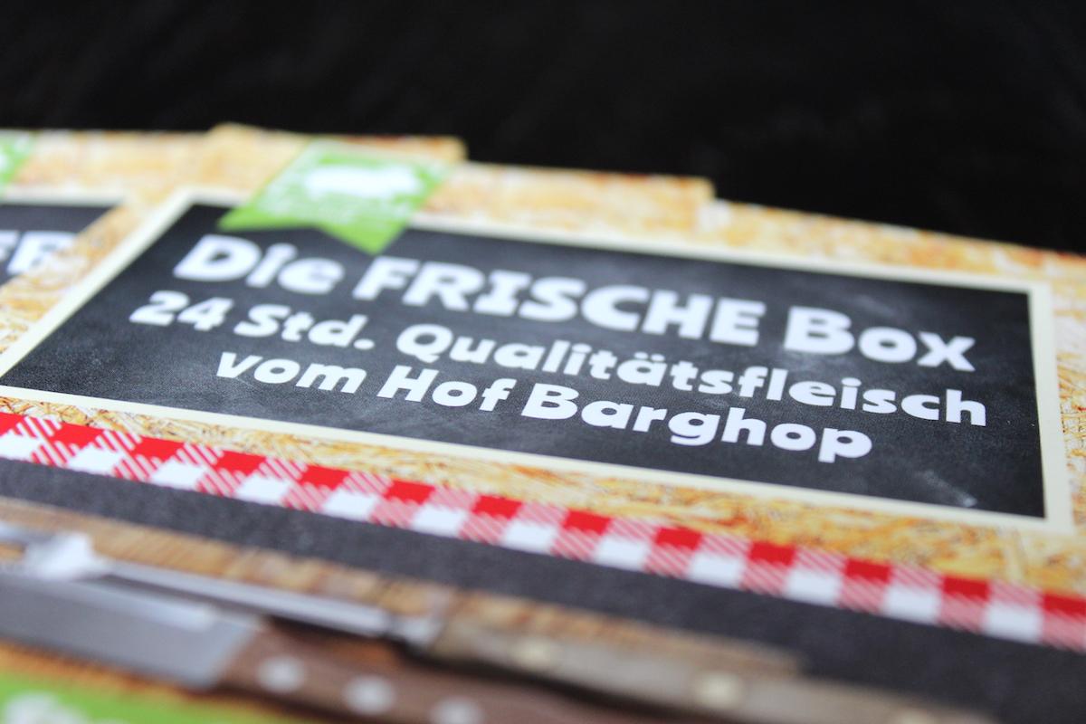 Die FRISCHE Box - 24 Std. Qualitätsfleisch vom Hof Barghop