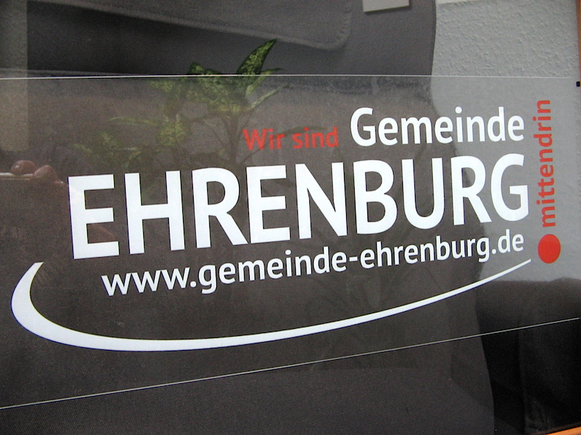 Print: Gemeinde Ehrenburg - Wir sind mittendrin.
