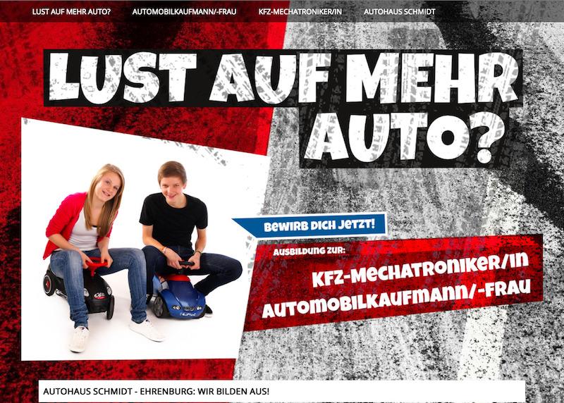 Web: Lust auf Mehr Auto?