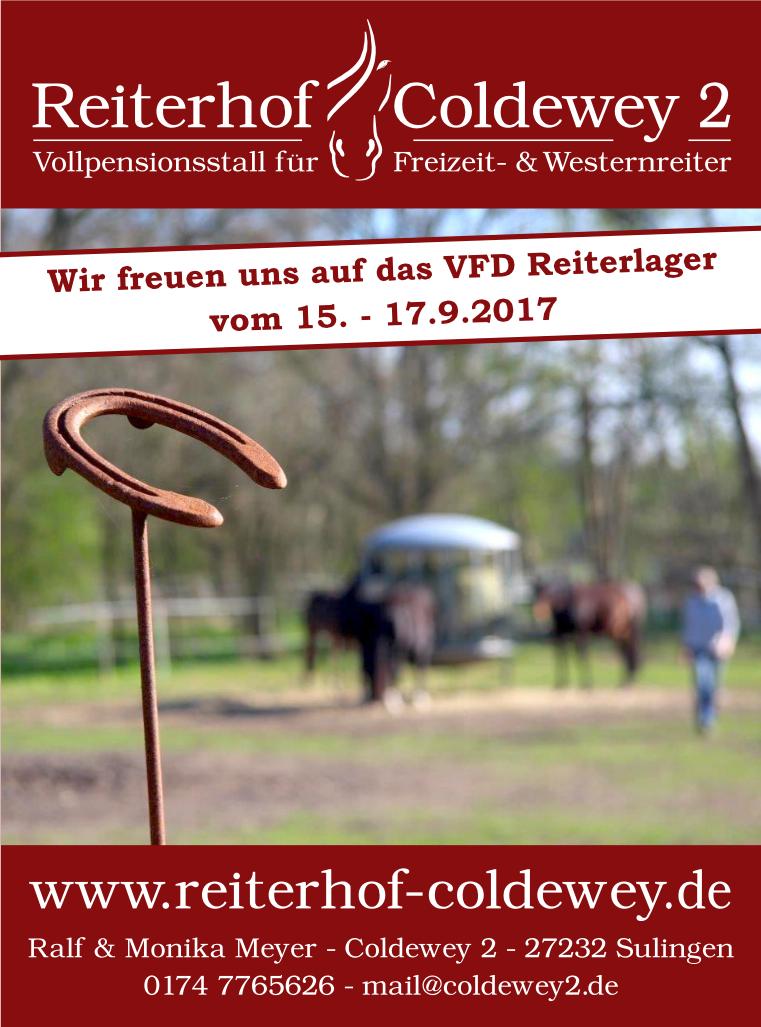 Plakat: Reiterhif Coldewey