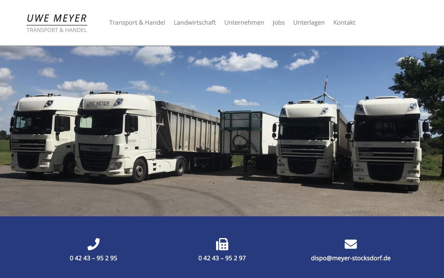 Uwe Meyer - Transport & Handel